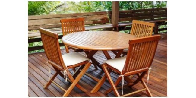 柚木家具为什么适合做户外家具