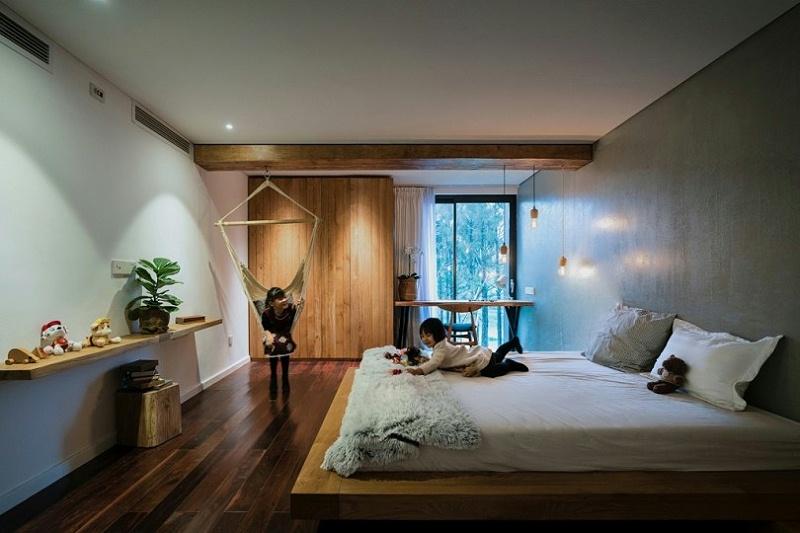 Teak-House-–-A-modern-wooden-house-design-interplay-between-culture-and-environment-15