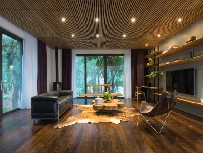 柚木屋 – 文化与环境相互作用的现代木屋设计