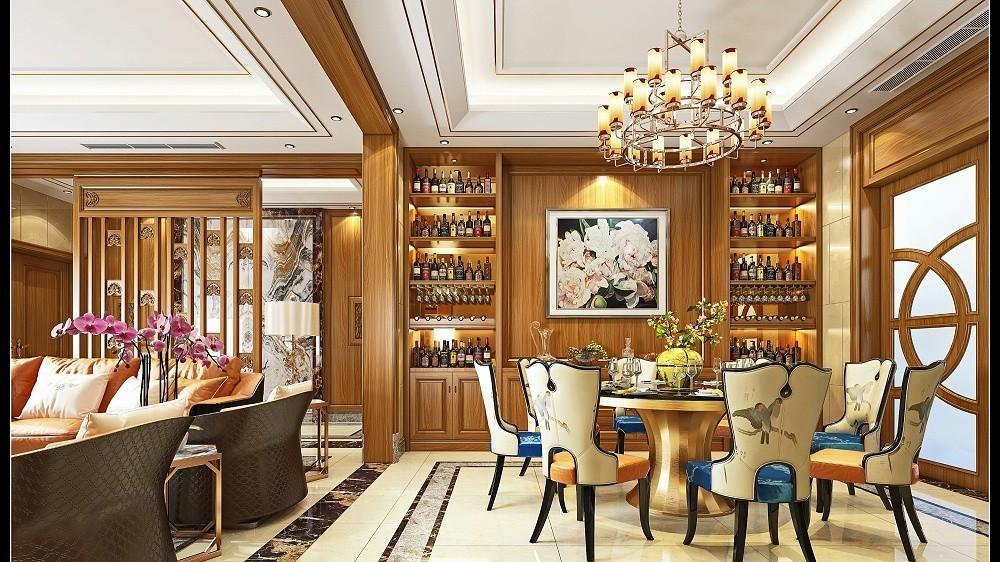 整木180705上海壹信木业 1楼客餐厅效果图020002 副本