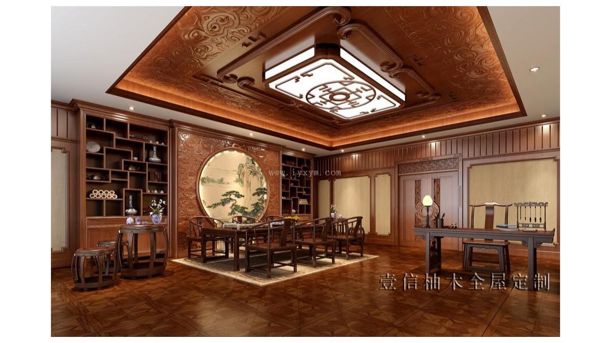 中式办公室03