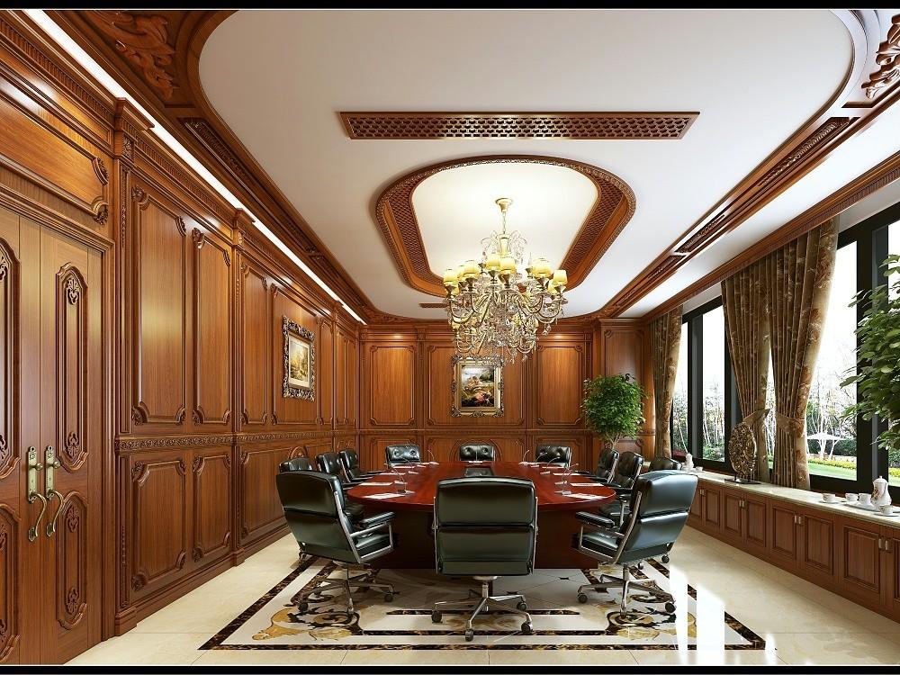 上海福信木制品有限公司_会议室效果图01 副本