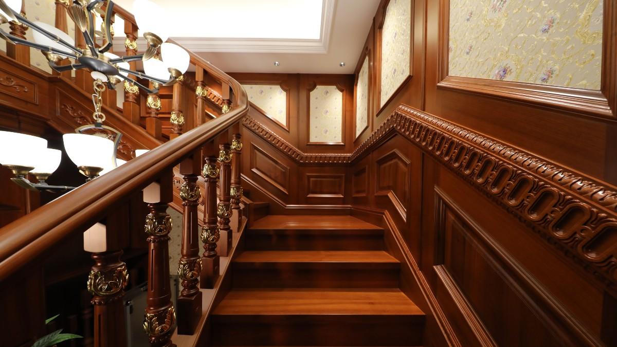 柚木楼梯02