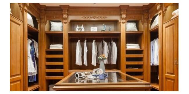 柚木实木全屋定制中衣柜的养护方法