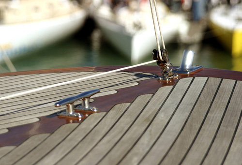 teak-boat