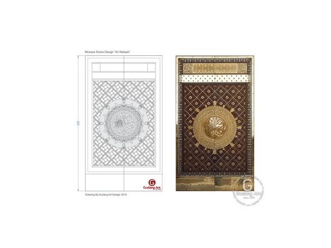 清真寺门和选择质量好的柚木门