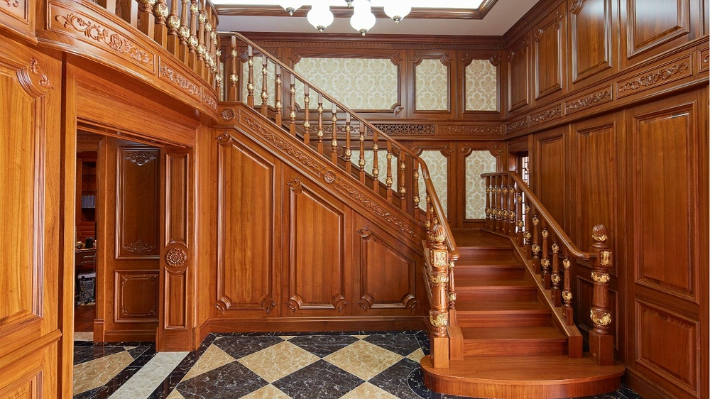 柚木实木楼梯05