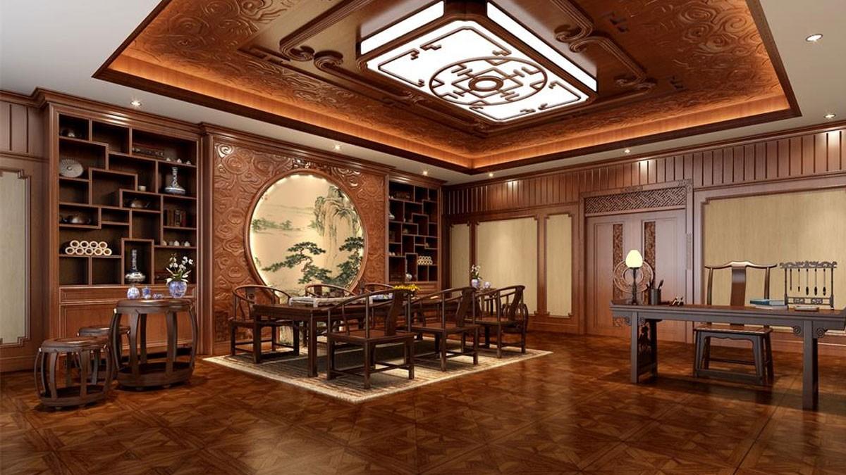 柚木茶室柜CSG03