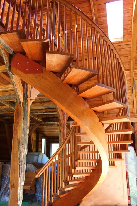 柚木螺旋楼梯