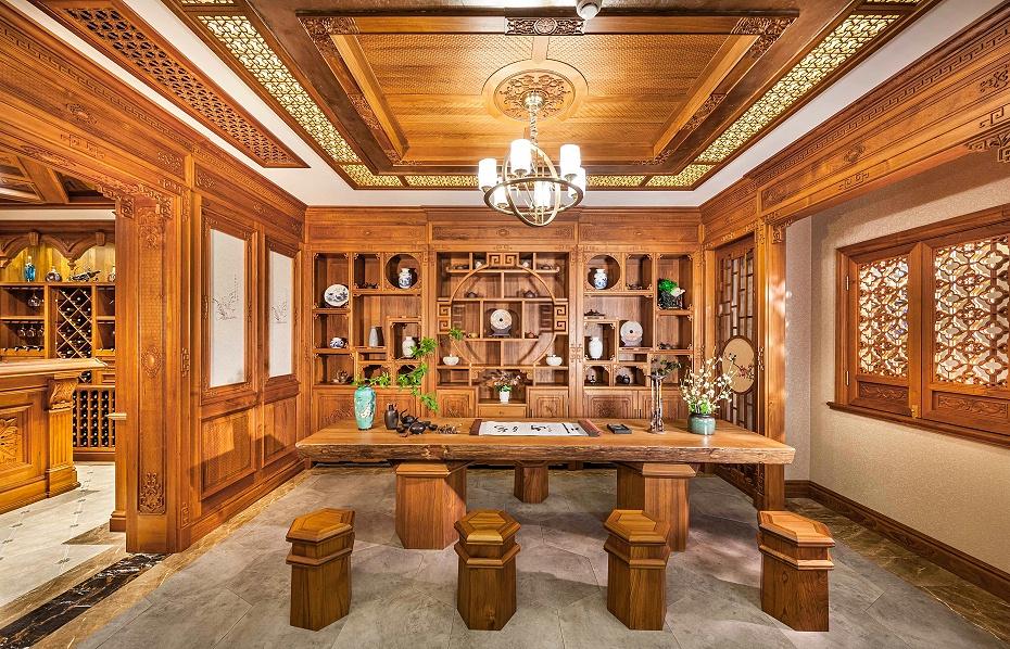 壹信茶室柜