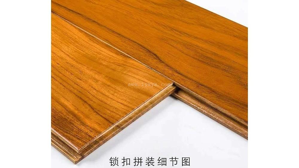 柚木实木拼花地板02