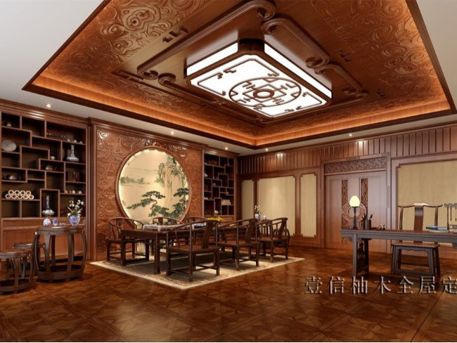 新中式全屋定制——茶室