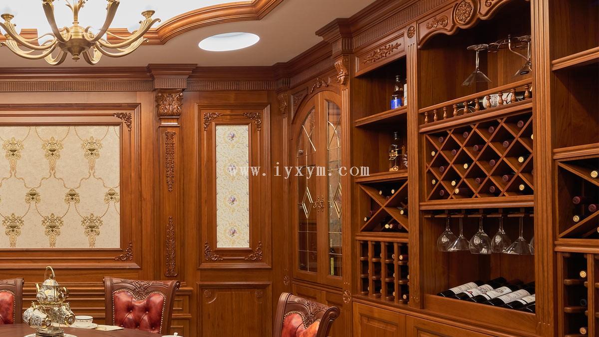柚木酒柜JG01